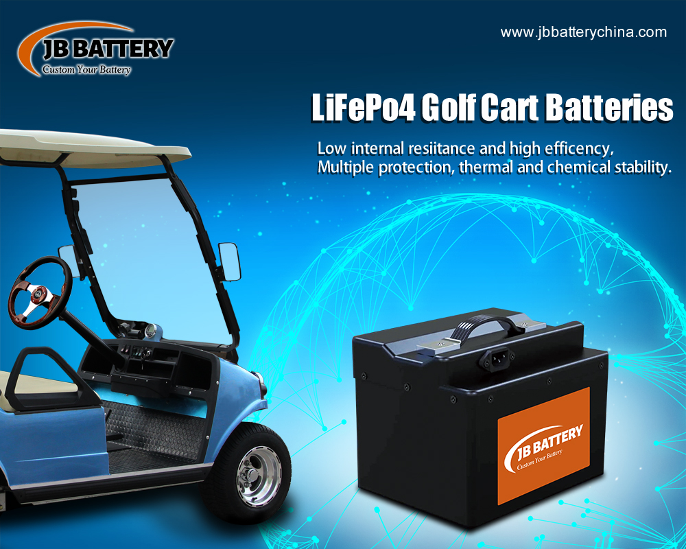 Can A 36v 20ah Custom Made LifePO4 Golf Cart Battery Packs Power A Golf Cart?