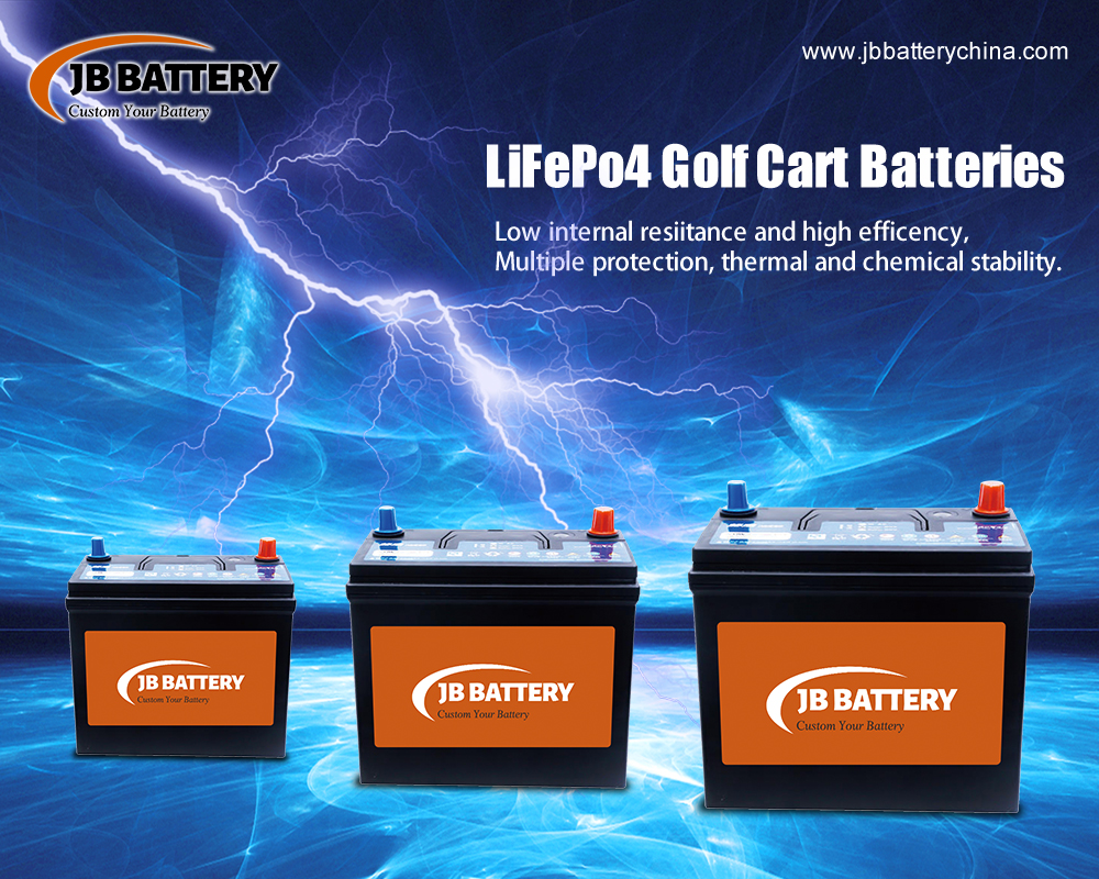 What Is The Difference Between A 36V Custom Lithium Ion Golf Cart Battery Pack And A 48v Customized Lithium Battery Pack?