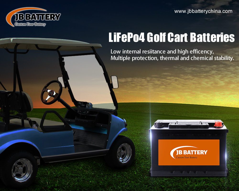 48v 100ah LifePO4 And Lithium Ion Golf Cart Battery Pack - Which One Is More Likely To Explode?