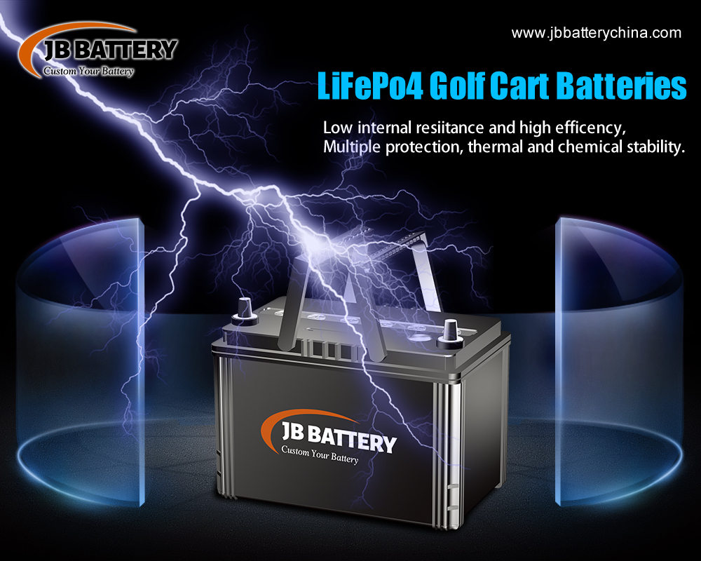 China LifePO4 Golf Cart Battery Pack Manufacturer (27)