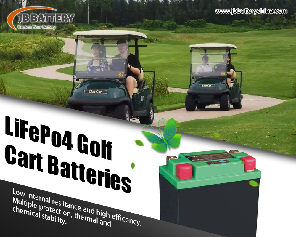 Complete guide to custom golf cart battery packs