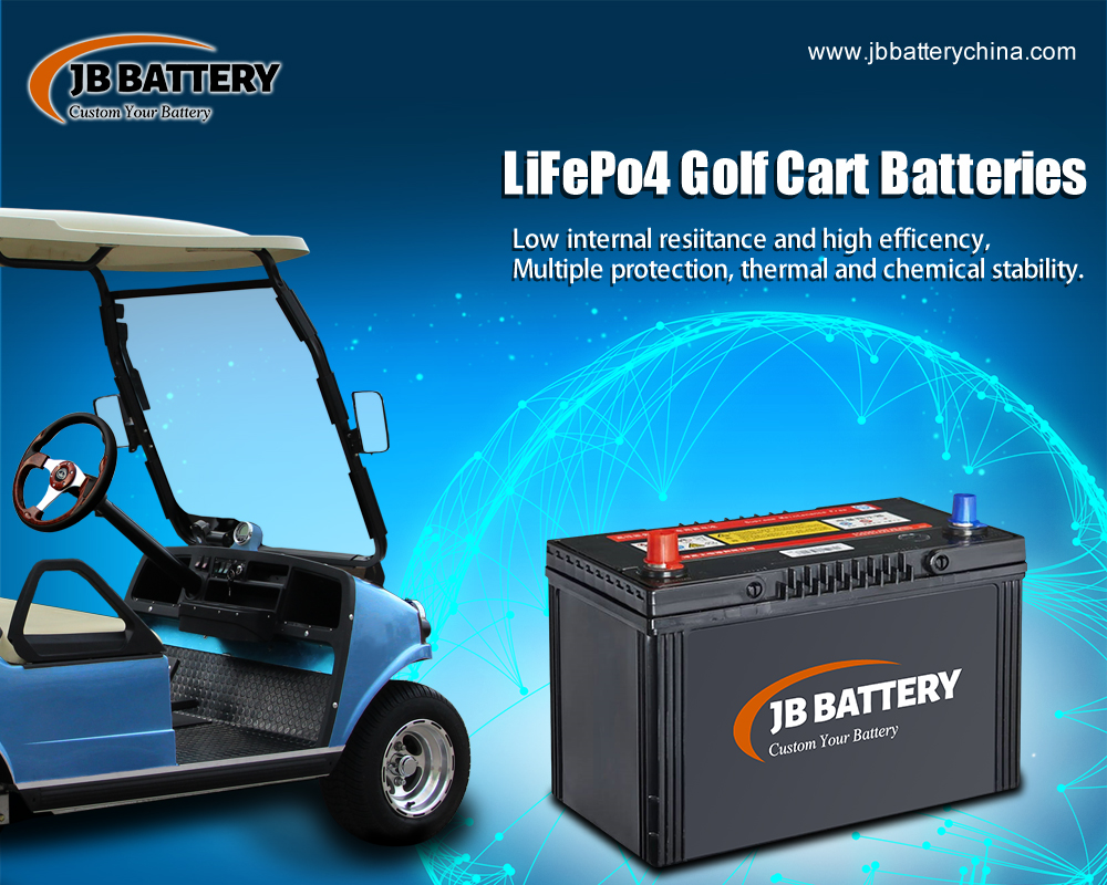 China LifePO4 Golf Cart Battery Pack Manufacturer (39)