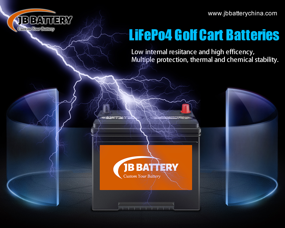 What is special about 48V 200AH custom made LiFePO4 golf cart battery packs?